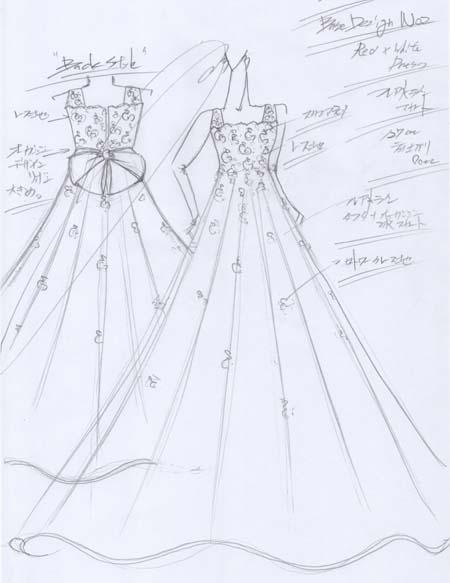 お客様の夢を叶えるオーダーメイドドレス