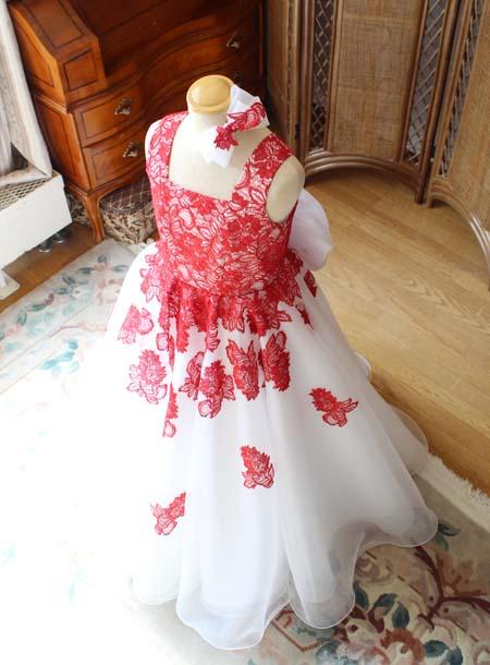 立体的なドレスシルエット オーダーメイドドレス