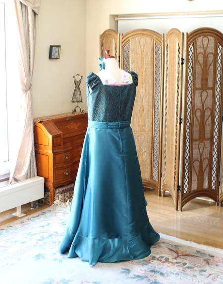 ヴァイオリンのアーティスドレス サイズオーダー カスタムメイド シルエット