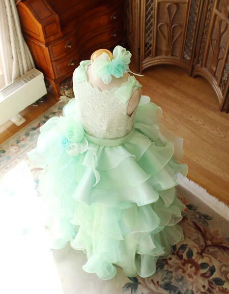 ピアノのコンチェルトドレス お客様のドレスデザイン