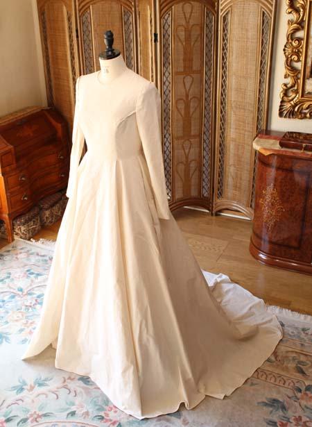 オーダーメイドウェディングドレス 仮縫いドレス