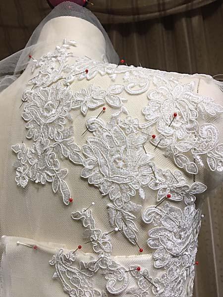 ウェディングドレス製作 ハンドメイド