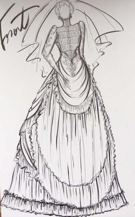 ヴィンテージウェディングドレス オーダーメイド