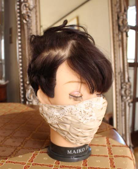 マスクデザイン フォーマルドレスに合わせたコーディネート