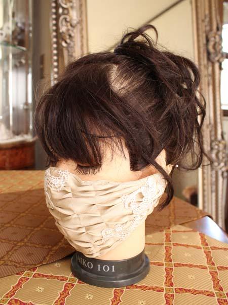 フォーマルドレス用のマスクデザイン
