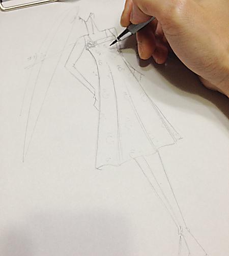 ドレスのデザイン