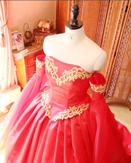 企業案件 オートクチュールウェディングドレスを制作