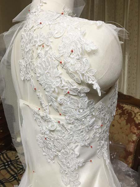 ウェディングドレス製作