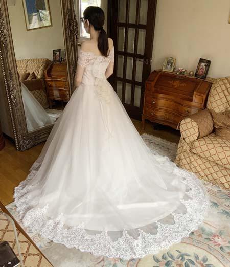 小物選び ウェディングドレスのヴェール
