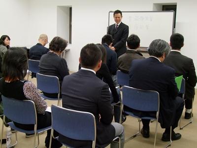 みなさんの受講の目的、キッカケはさまざま。 最初に掲げられた目標を、見事成果として発表されていました。