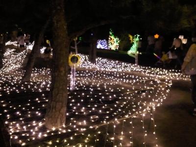 高砂公園 夢の灯会場