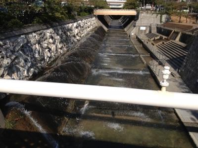 新神戸の川