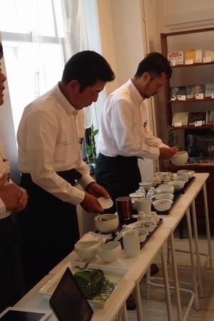 「玉しずく」茶宴
