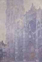 ルーアン大聖堂、正面とサン=ロマン塔