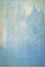 霧のルーアン大聖堂