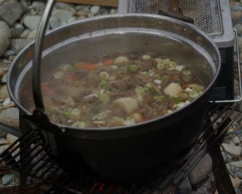 夫の実家は芋煮好き♪オリジナルレシピです。