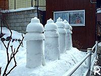 雪灯籠その2