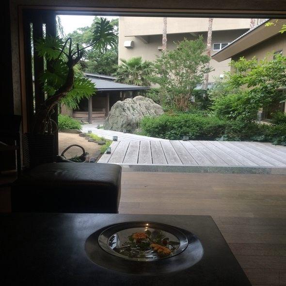 淡路島(洲本)夢泉景別荘 天原 受付