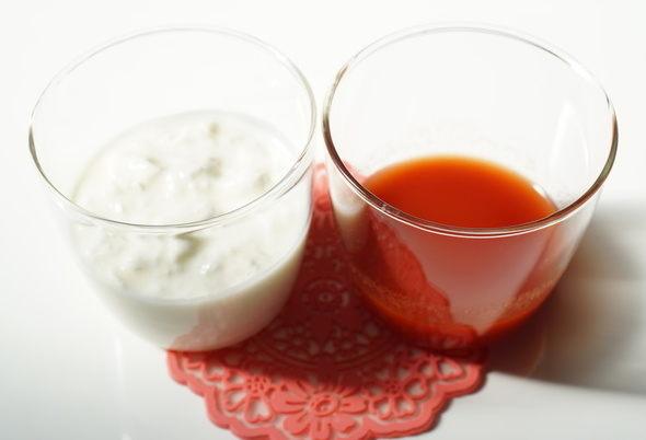 【スッキリ!!】ホットトマトヨーグルトの作り方