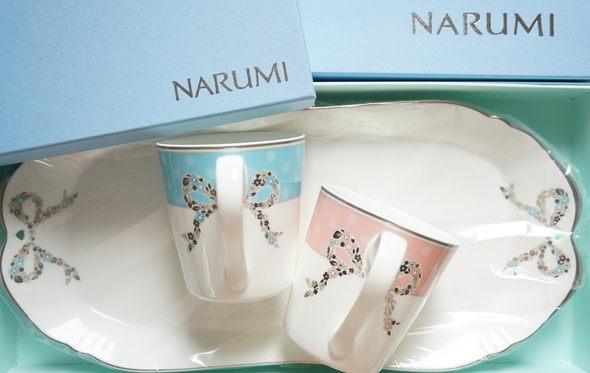 NARUMI(ナルミ)リボン食器【フェリシータ】