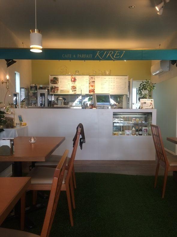 オーガニックカフェ - カフェ&パフェ 芦屋木麗(きれい)店内