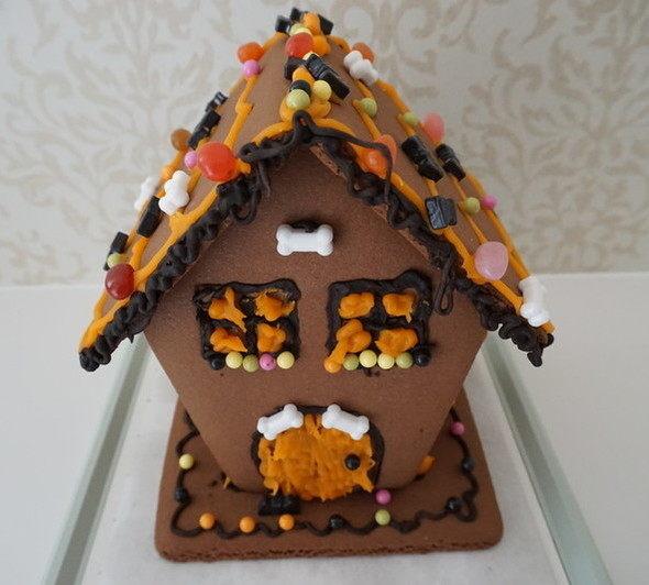 アメリカで大人気!ハロウィン限定 お菓子の家 キット お家で楽しく手作り