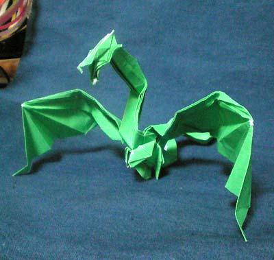 ハート 折り紙:折り紙 龍の折り方-origamiclub.jugem.jp