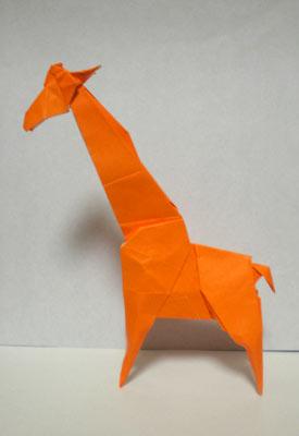 簡単 折り紙 : 折り紙 キリン : origamiclub.jugem.jp