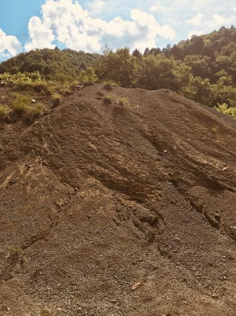 面谷鉱山 ズリ