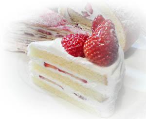 ニュアージュケーキ