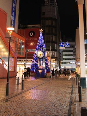 クリスマスツリー 福井西武