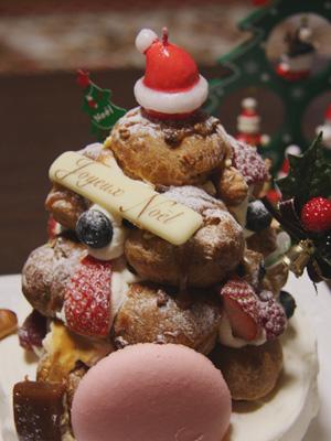 クリスマスケーキ_ニュアージュ