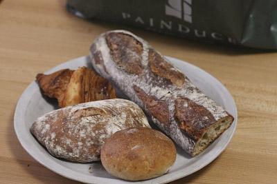 アド・パンデュースの食事パン