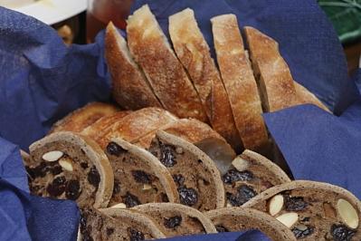 プレジュールのパン