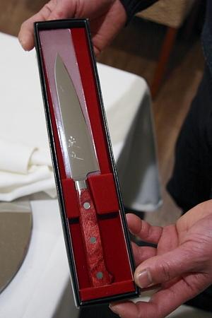 高村刃物のペティナイフ