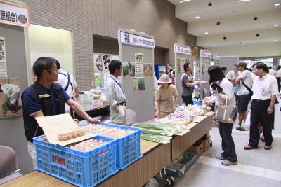 カニ野菜販売会