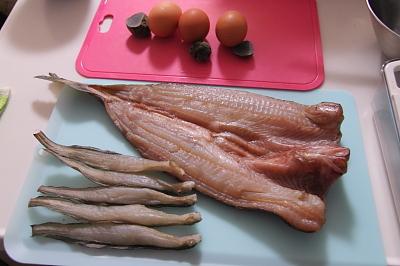 水魚の干物