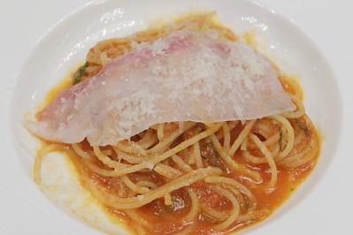 片岡シェフのおいしいトマトのスパゲッティ