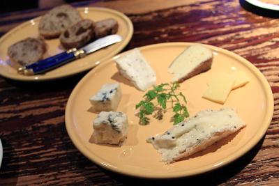 シュヴァリエのチーズ盛り