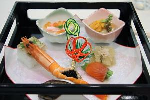 ホテルフジタ福井の披露宴料理 八寸