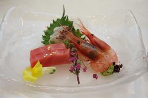 ホテルフジタ福井の結婚式料理 お魚料理