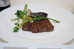 ホテルフジタ福井の結婚式料理 肉料理