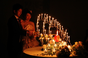 ホテルフジタ福井結婚式 キャンドルサービス