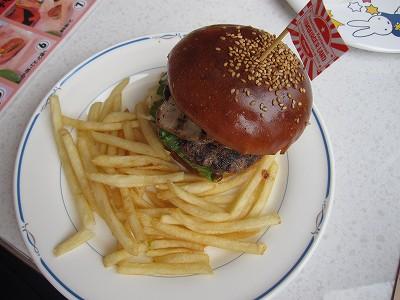 ハンバーガーランドのハンバーガー