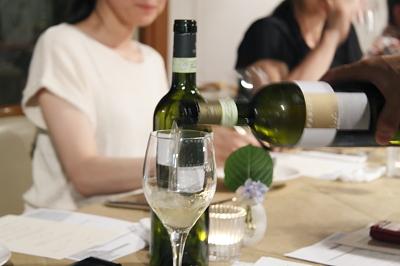 ソニョーポリのワイン会