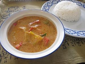 タイ料理 レッドカリー