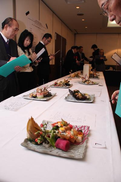 第16回 福井県日本調理創作技術コンクール