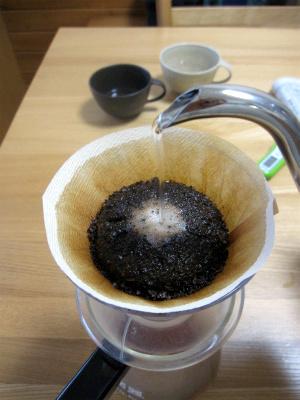 コーヒーの抽出温度