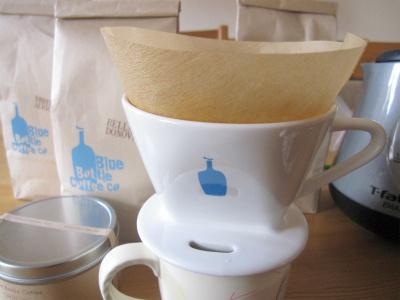 ブルーボトルコーヒーのドリッパー