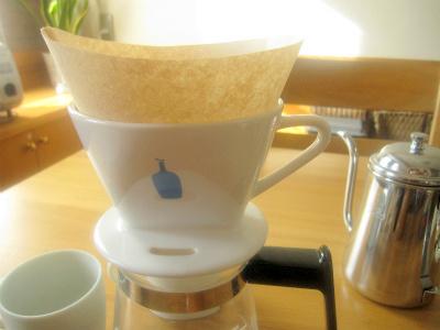 ブルーボトルコーヒーのドリッパーメリタ式